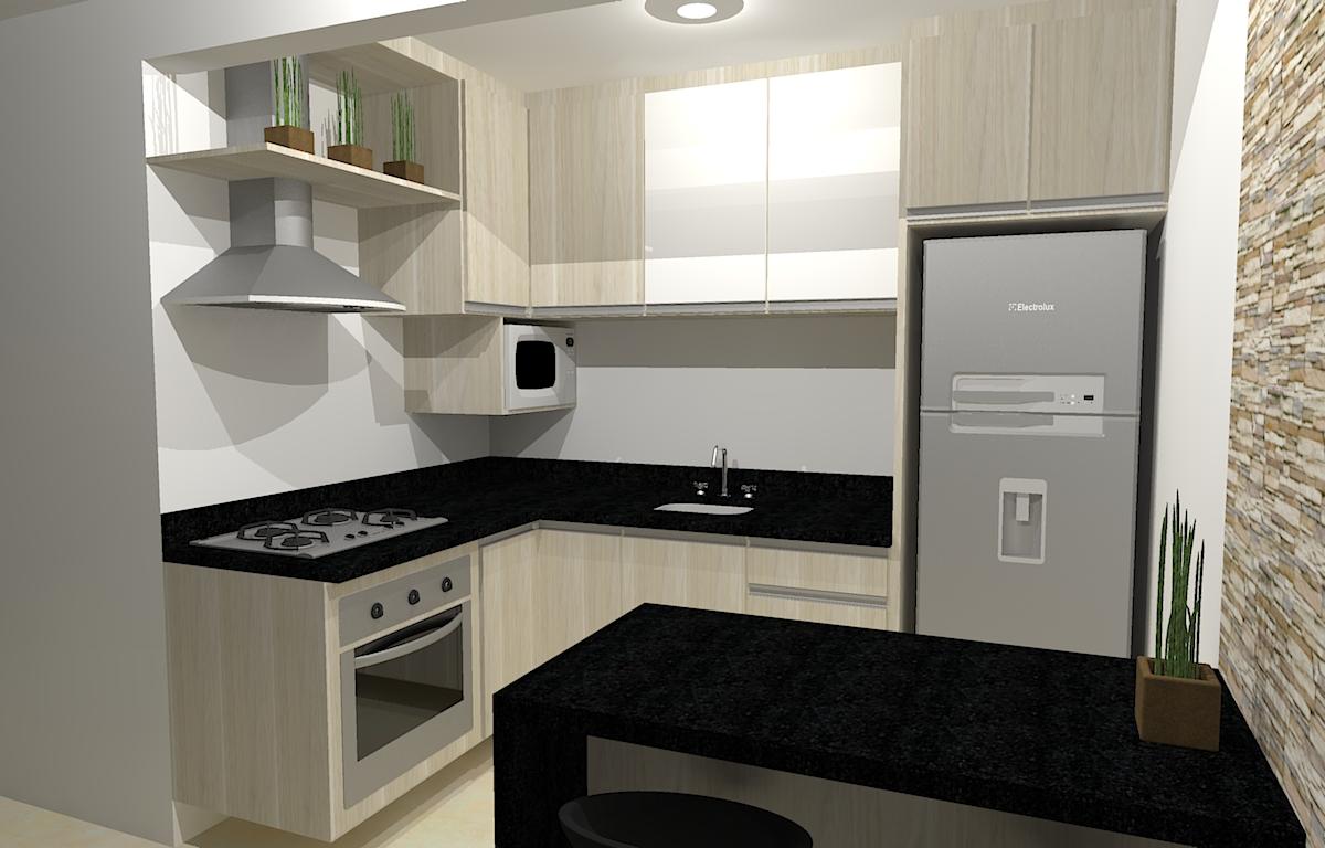 #8E6D3D Projetos Sentone Móveis Sob Medida – Curitiba 1200x768 px Projeto Cozinha E Quarto #2511 imagens